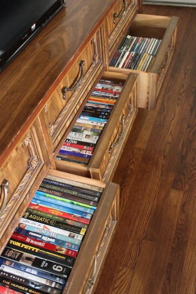 dvd bookshelf plans